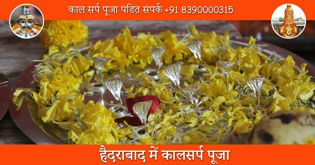 हैदराबाद में कालसर्प पूजा